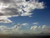 Wolken über der Bucht von Mossel Bay